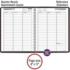 At A Glance 2022 8 X 11 Weekly Appointment Book Planner Dayminder Burgundy