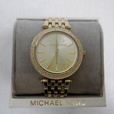 Michael Kors Womens Analogue Quartz Watch GOLD MK3191 *NEW*