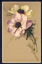 POSTKARTE Meissner & Buch Illustration Litho C. KLEIN FLEURS FLOWERS BLUMEN