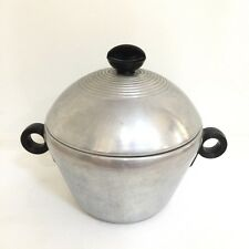 Vintage Enterprise 18 Gauge 3pc. Aluminum Blanching/Canning Pot with Strainer