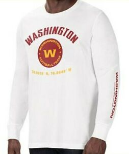 Washington Redsk-Opps I Mean *Football Team* Long Sleeve 5XL (NEW)