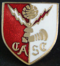 More details for charlton athletic vintage supporters club badge brooch pin in gilt 19mm x 22mm