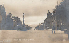 Postcard Invergordon Cromarty Firth Scotland early High Street looking West RP