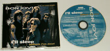 BON JOVI I'll Sleep When I'm Dead Rare German 4-track picture CD single & Live