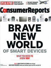 Consumer Reports~June 2015~Smart Devices~Appliances~Frequent Flyer~FREE SHIPPING