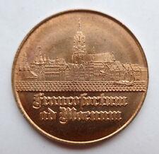 Medaille Neckermann Versand AG --dank für die Zusammenarbeit-- 1980