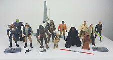 Star Wars Mix  Action Figures Bundle All Different