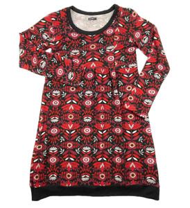 ISHKA   Long Sleeve Floral Knit Jumper Dress Made In Nepal   Size XL