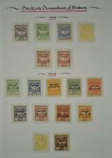 BRITISH OCCUPATION OF BATUM GORGIA STAMPS SELECTION ON ALBUM PAGE  (K28)