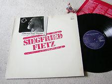 SIEGFRIED FIETZ Komm mein Vogel Vertrauen 1981 LP +OIS ABAKUS 90 044