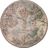 S5873 USA Colonial 2 Sols Louis XV 1741 BB Strasbourg - Faire Offre