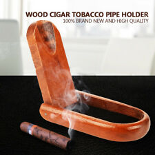 Portable Wood Wooden Collapsible Cigar Tobacco Smoking Pipe Stand Rack Holder IS