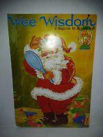 Wee Wisdom Magazine Dec 1968 Santa Claus Merry Christmas Happy New Year Card