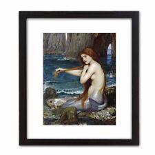 Classic Art Print: John Waterhouse  A MERMAID Beautiful Woman Magic Fantasy Love