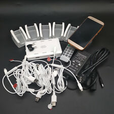 Mobile 6 Channel Security Display System Cell phone retail Anti-theft for iphone