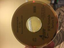 Kurzweil k2000 k2500 rsi sounds series II CD SWEETWATER
