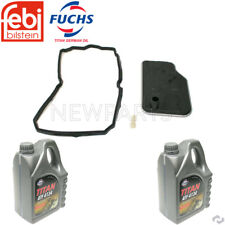 For MB W203 W211 R171 Transmiss  Filter Kit & Automatic Transmission Fluid 4134
