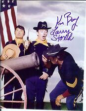 F Troop Agarn Larry Storch & Ken Berry  Capt. P. Autographed 8x10 color photo