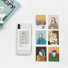 7 Cards Mona Lisa Van Gogh Picasso Last Supper Art Phone Case/Cover For iPhone