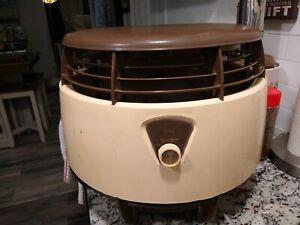 Vintage Sears, Roebuck and Co 3 Speed Circulating Floor Hassock Fan.