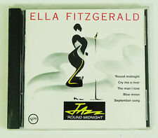 Jazz Round Midnight by Ella Fitzgerald (CD, Mar-1991, Verve)