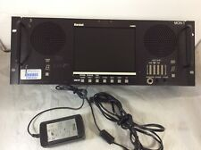 "Marshall V-R81PA 8"" 4U Rackmount Video LCD Monitor NTSC PAL XLR Audio 7.9"" Power"