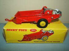 """DINKY TOYS modello No.321 """"MASSEY-HARRIS SPANDILETAME"""" Nuovo di zecca con scatola"""