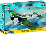 COBI 5704 Jagdflugzeug Focke Wulf Fw190A-8 WWII 285 Bausteine/1 Figur NEUHEIT !