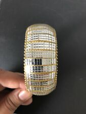 Ladies Gold And Silver Diamontee Shine Bead Bangle Bracelet From Next