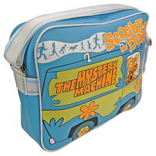 NEW OFFICIAL Scooby Doo Mystery Machine Retro Satchel School Shoulder Bag
