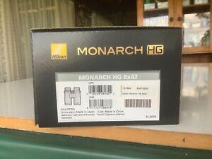 Nikon Monarch HG 8x42 Field Flattener Binoculars