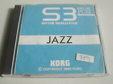 Korg - KSC-3S Jazz Cards for S3 Rhythm Workstation in Jewell Case