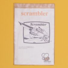 Vintage Microbee Computer Software Manual for 'Scrambler'