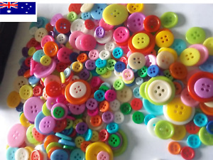 Buttons bulk 100 200 400 1000 Craft sewing multi single colour 9~23  Christmas
