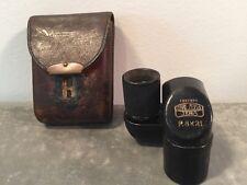 Antique Pre-War Carl Zeiss Jena Turmon 8x21 Folding Spy Monocular, Leather Case