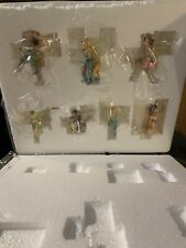 Disney Store Tinker Bell and Fairies Set of 7 Ornaments 45296