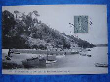 PLOUER-sur-RANCE  :  Le Port Saint-Hubert.......VO.1919.