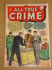 ALL TRUE CRIME #32 VG+ (4.5) MARVEL ATLAS COMICS MARCH 1948