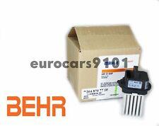 Mercedes C280 Behr Hella Service HVAC BMotor Regulator 351321491 2048707710