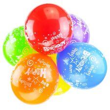 Paquete de 25,4-30,5cm Globos Látex Cumpleaños 12 Calidad Fiesta Boda (Espiral)