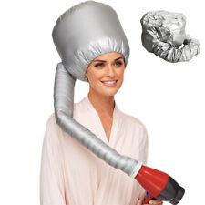 Hair Drying Salon Cap Bonnet Portable Soft  Hood Hat Blow Dryer Attachment