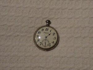 Antique Swiss Longines Pocket Watch – Tripoli Libya – WW1 Era Italo-Turkish War