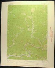 Mapleton Oregon Lane County Siuslaw 1959 vintage USGS original Topo chart map