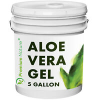 Aloe Vera Gel For Face And Body Moisturizer 5 Gal