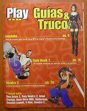 Guías Koudelka,Tony Hawk's Pro Skater 2,3ª parte Alundra 2, PS1 N64 Dreamcast PC