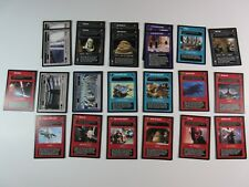 Lot of 23 Cards DS Reflections III BB Limited Decipher Star Wars CCG NM/SP (R3A)