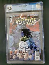 DC Batman Detective Comics 1, New 52, CGC 9.6 1st edition The Joker
