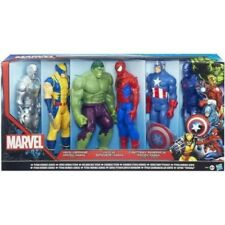 MARVEL TITAN HEROES SERIES A4971 HASBRO WOLVERINE IRON MAN HULK SPIDERMAN CAPTAI