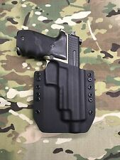 Black Kydex SIG P226R MK25 Threaded Barrel Holster