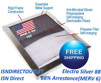 Save$$ Washable Permanent Air Care 16x20x1 Gold//Sliver  Electrostatic Filter